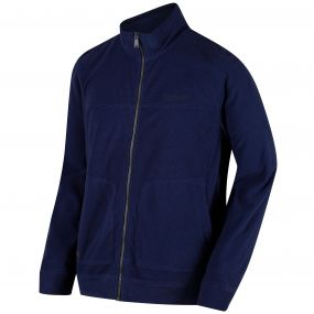 Ultar III Full Zip Mini Stripe Fleece Navy