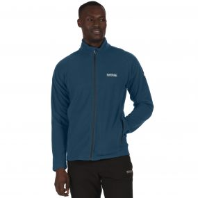 Men's Tafton Full Zip Stretch Honeycomb Fleece Majolic Majl