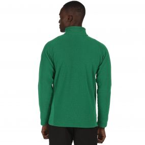 Men's Tafton Honeycomb Full Zip Stretch Fleece Highland Green