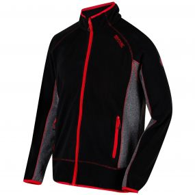Ashton II Full Zip Fleece Black