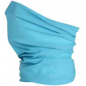 Adults Stretch Multitube Scarf Aqua