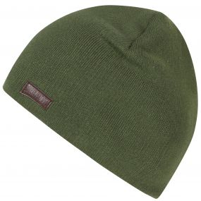 Baumar Cotton Beanie Ivy Green