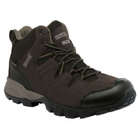 Holcombe Mid Walking Boot Peat Antique