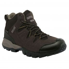 Men's Holcombe Mid Walking Boots Peat Antique