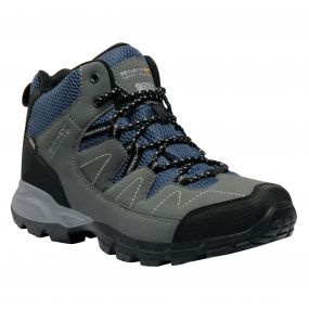 Regatta Men's Holcombe Mid Walking Boots Briar Dark Denim