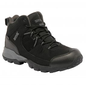 Holcombe Mid Walking Boot Black Granite