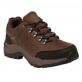 Smithfield Walking Shoe Chestnut Black