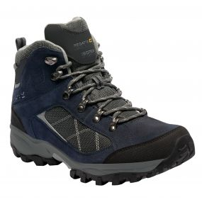 Men's Clydebank Hiking Boots Navy Blazer Briar