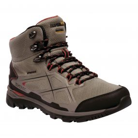 Men's Kota Mid Walking Boots Treetop Burnt Tikka
