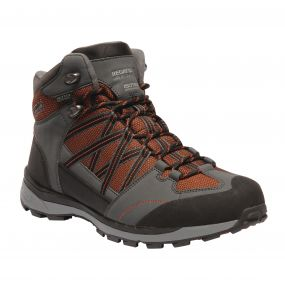 Men's Samaris ll Mid Hiking Boots Orange Briar