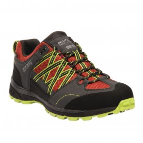 Men's Samaris II Low Hiking Shoes Pepper Lime Green