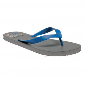 Men's Bali Flip Flops Rock Grey