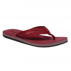 Men's Rico Flip Flops Delhi Red