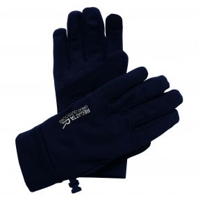 Men's Touchtip Stretch Softshell Gloves Black
