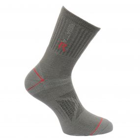 Mens Blister Protection Socks Granite