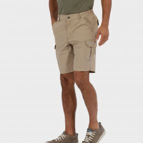 Mens Delph Short Nutmeg Cream