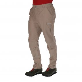 Delph Trousers Nutmeg Cream