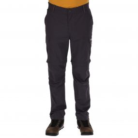 Mens Delph Zip Off Trousers Iron