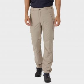 Leesville Zip Off Trousers Parchment