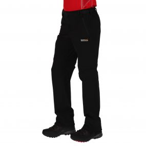 Men's Xert Stretch Zip Off Trousers II Black