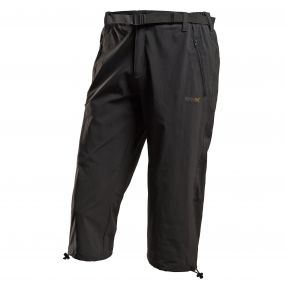 Xert Stretch Capris II Seal Grey
