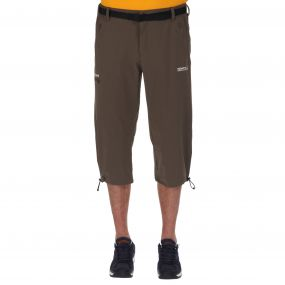 Xert Stretch Capris II Roasted