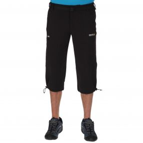 Xert Stretch Capris II Black