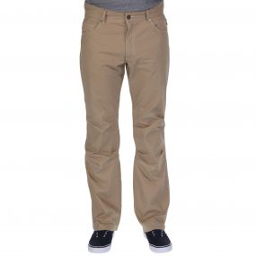Landike Trousers Nutmeg Cream
