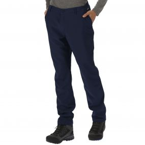 Men's Fenton Wind Resistant Softshell Trousers Navy