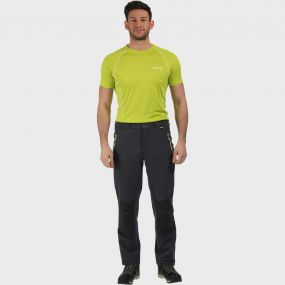 Men's Questra Stretch Softshell Trousers Seal Grey Ash
