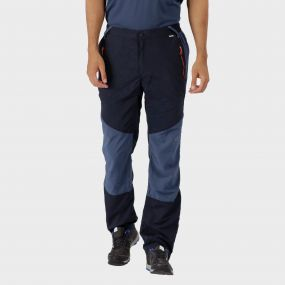 Sungari Trousers Navy Dark Denim