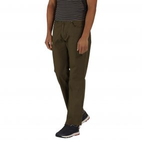 Landyn Trousers Olive Night