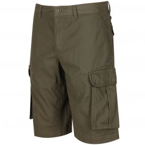 Shoreway II Coolweave Cotton Canvas Shorts Ivy Green