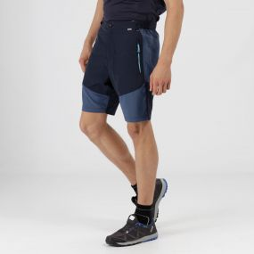 Sungari Lightweight Active Shorts Navy Dark Denim