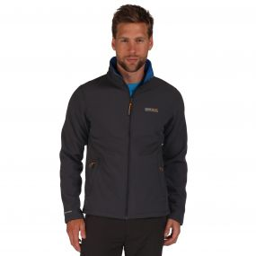 Cera III Softshell Jacket Iron OxfBlue