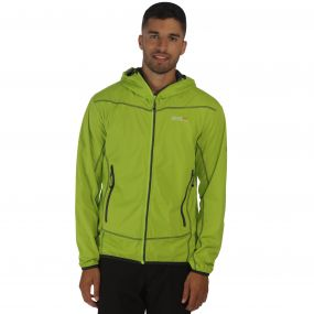 Static III Softshell Jacket Lime Green