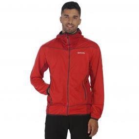Static III Softshell Jacket Pepper Chilli