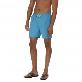 Mawson Swim Short Coastal Blue
