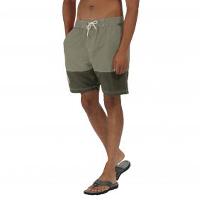 Brachtmar Swim Shorts Green Olive