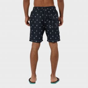 Hotham Board ll Swim Shorts Navy Palm