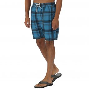Hadden Board Shorts Coastal Blue