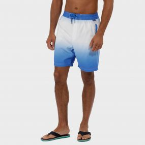 Hotham Board ll Swim Shorts Oxford Blue White