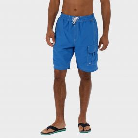 Hotham Board ll Swim Shorts Oxford Blue