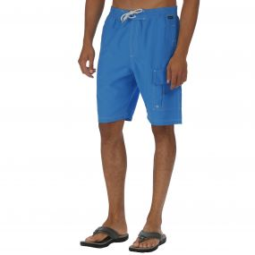 Hotham Board Shorts II Coastal Blue