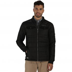 Larrie Quilted Jacket Black