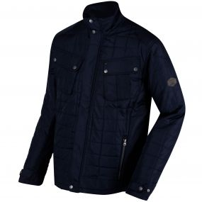 Lamond Quilted Insulated Jacket Navy