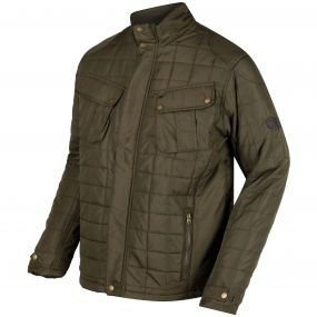Lamond Quilted Insulated Jacket Ivy Green