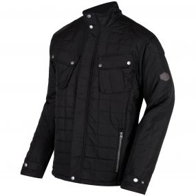 Lamond Quilted Insulated Jacket Black