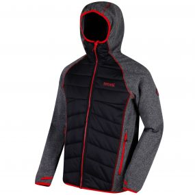Andreson III Hybrid Stretch Lightweight Insulated Jacket Black