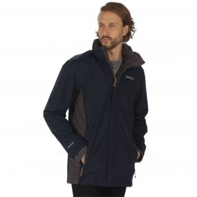 Telmar Waterproof 3-in-1 Jacket Navy Iron